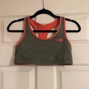 North face reversible sports bra